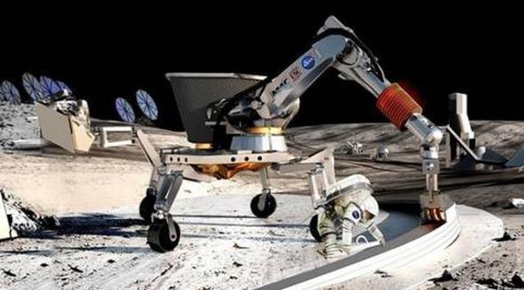 NASA希望您设计一个可以在月球上挖掘的机器人