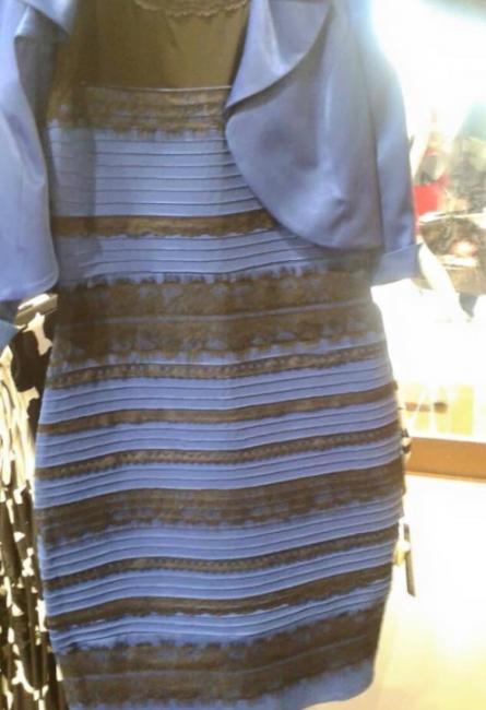 苏格兰婚礼上一位宾客所穿的洋装到底是蓝黑色还是白金色?