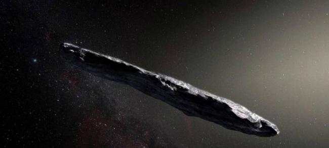 """哈佛大学教授Avi Loeb新书认为雪茄状星际物体""""奥陌陌""""是外星航天器"""