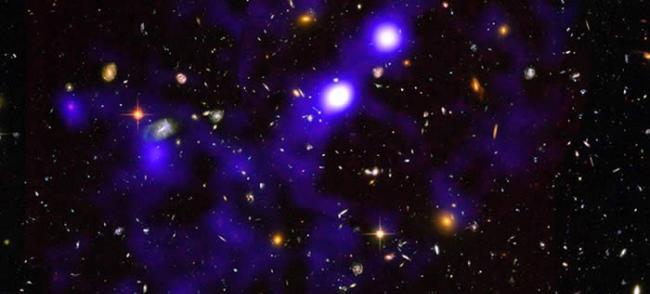 """透过模型探索120亿年前宇宙初期的样貌 首次看到氢气光亮丝线构成的""""宇宙网"""""""