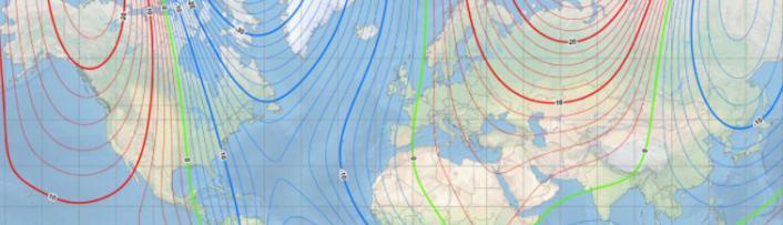 磁北极奔向俄罗斯北极海岸 地球磁场正迅速移动改变