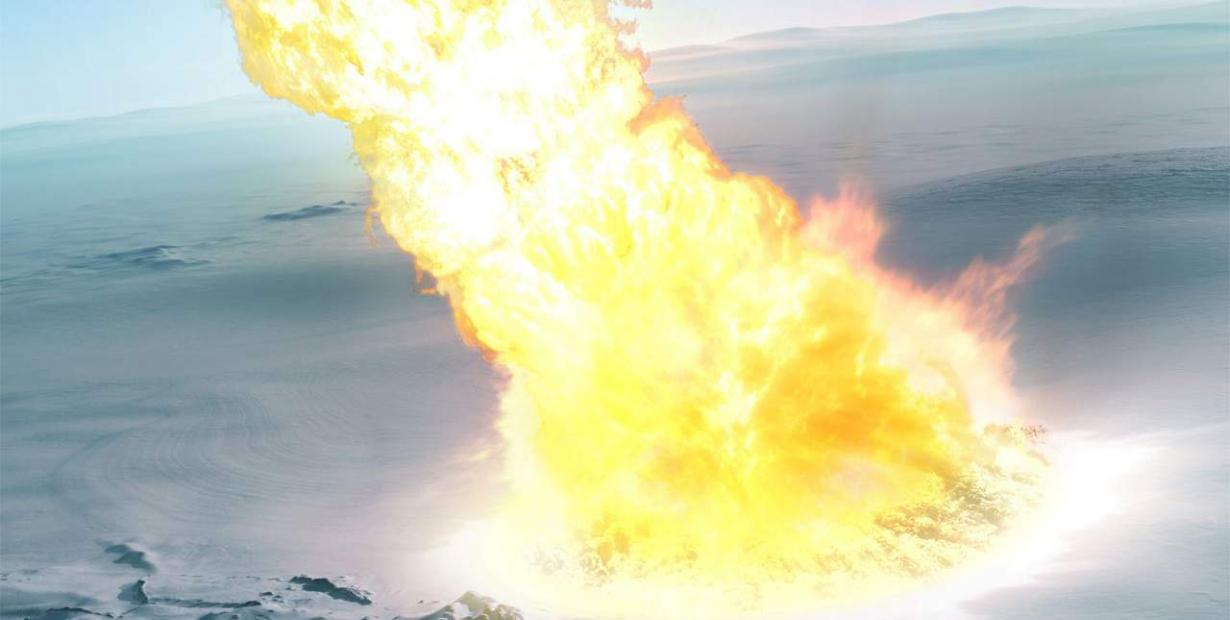 南极洲发现43万年前源自一次中型小行星撞击的颗粒