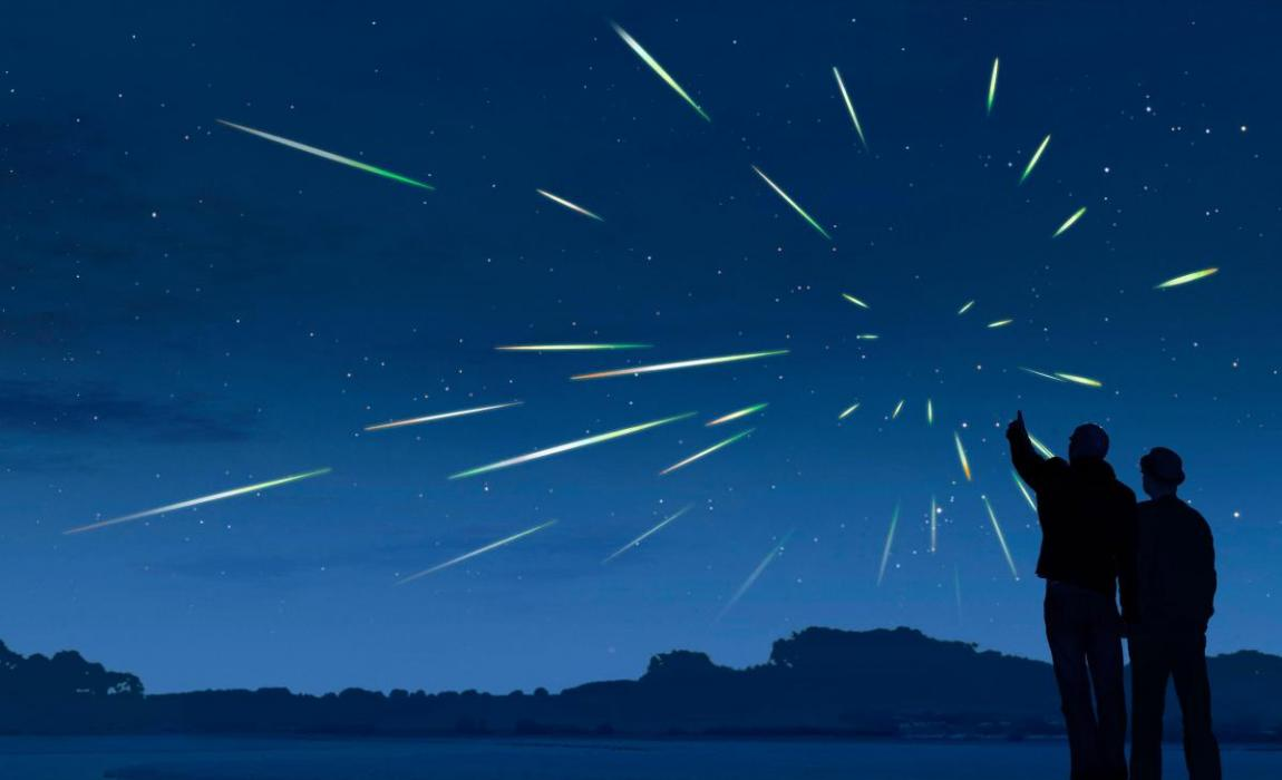 """2021年4月份天文现象概况:天琴座流星雨将""""绽放""""夜空"""