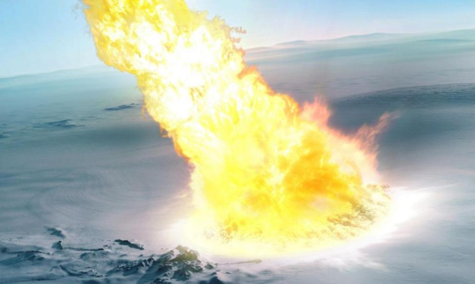 发现43万年前小行星撞击南极冰盖的新证据
