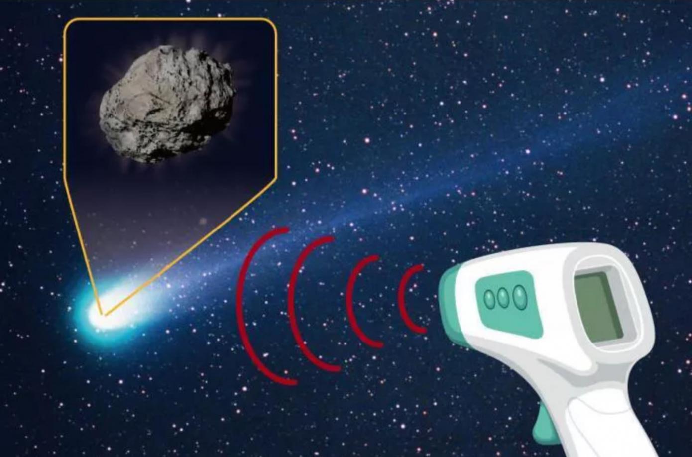正接近寿命尽头的P/2016 BA14 (Panstarrs)彗星表面发现滑石粉