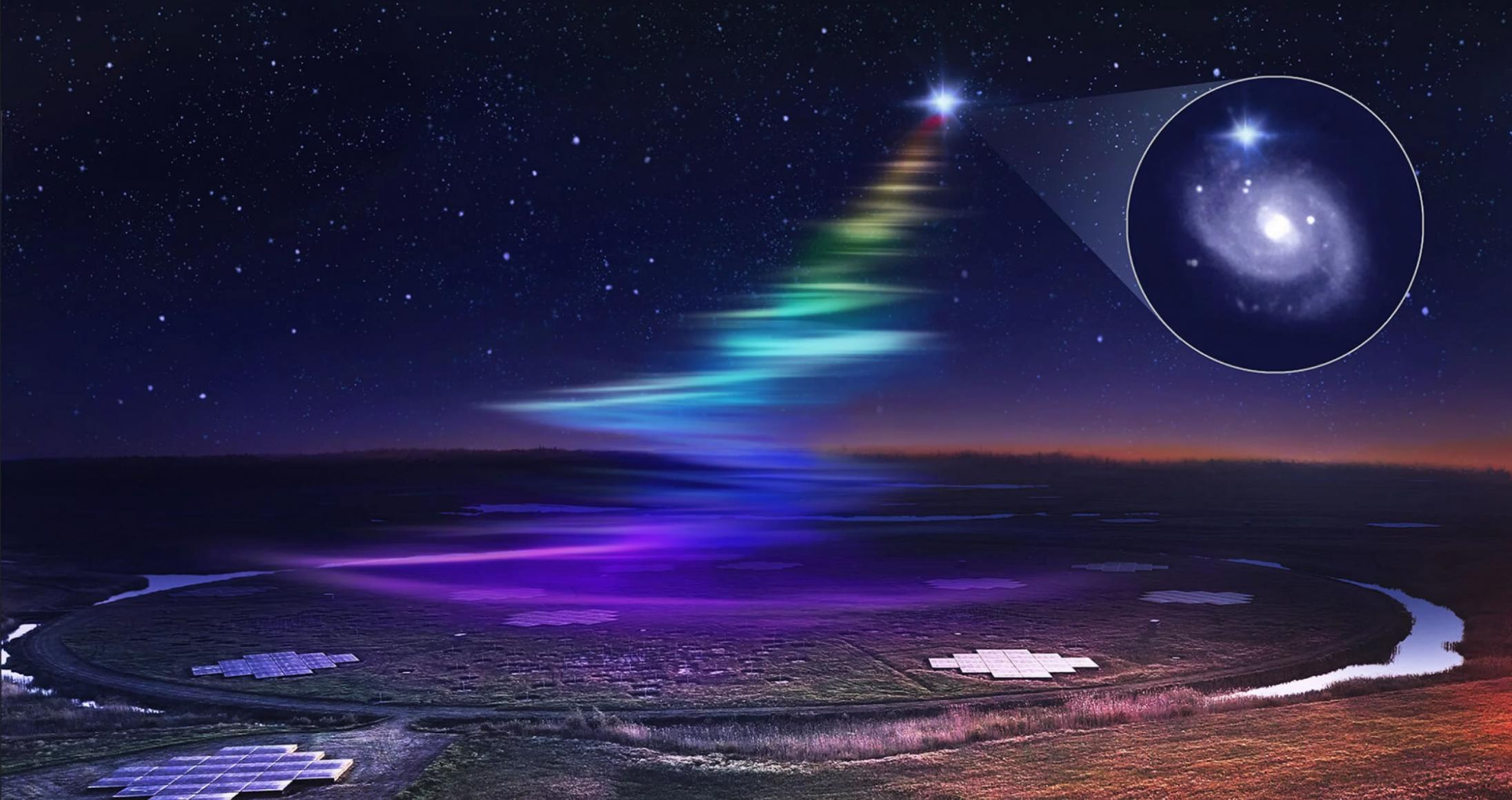 快速射电暴(FRB)中发现新频率:迄今探测到过的最低辐射