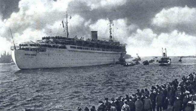 """德国""""威廉・古斯塔夫""""号运输船"""