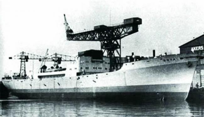 """德国""""戈雅""""号军用运输船"""