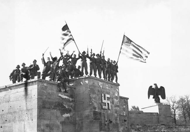 为什么纳粹德国在第二次世界大战中投降了两次?
