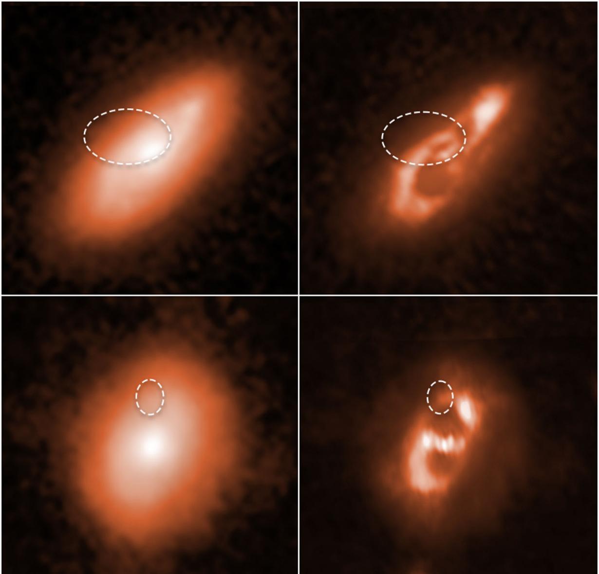 哈勃太空望远镜追踪五个非常短暂和强大的快速射电暴(FRBs)的位置