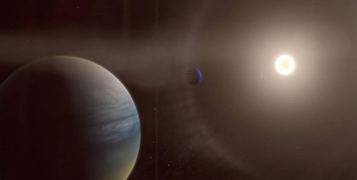 业余天文学家们通过TESS项目发现两颗气态系外行星