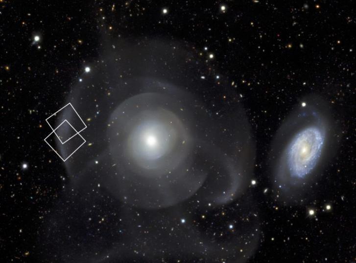 成功地探测到遥远星系中极其微弱的行星状星云
