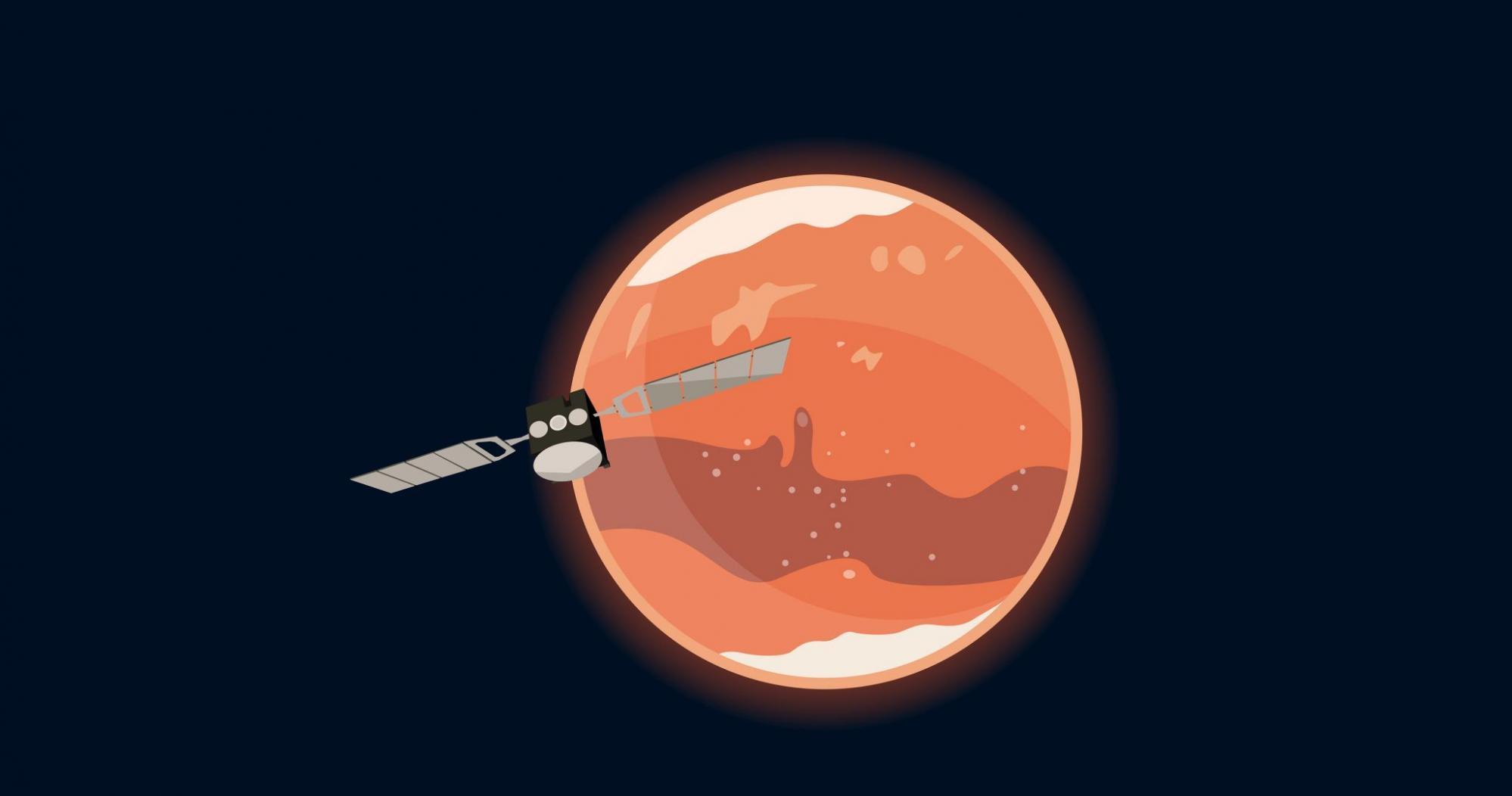 对火星大气中臭氧和水蒸气的长期研究可能有助于更好地了解地球的大气化学