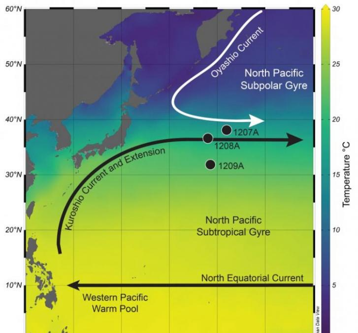 《古海洋学和古气候学》:上新世到更新世早期黑潮延伸体区域的重建揭示动态海流