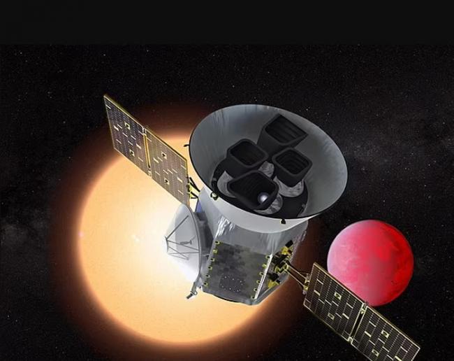 凌日外行星勘测卫星TESS探测到一颗新的系外行星――超热类木星TOI-1518b