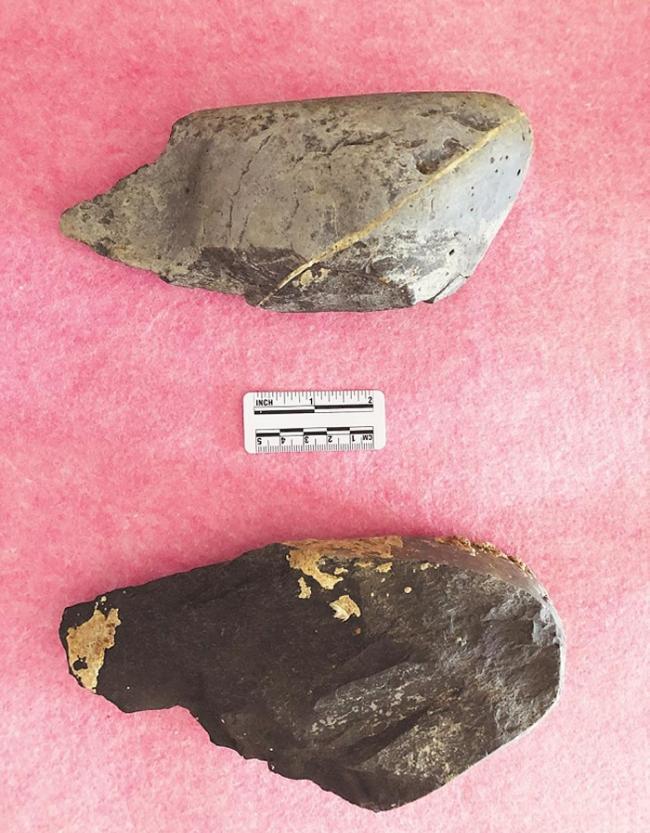 郧县人遗址附近发现古人类石器加工场 出土手斧等旧石器时代典型器物